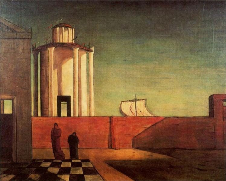 Giorgio Chirico Paintings Chronological