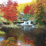 Glade Creek Mill West Virginia Painting Steve