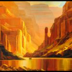 Grand Canyon Painting Magnificent