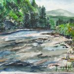 Greenbrier River West Virginia Painting Jan