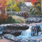 Grist Mill West Virginia Painting Lucille