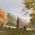 Gurney Journey Graveyard Painting