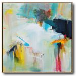 Hand Painted Palette Knife Contemporary Art Canvas Painting