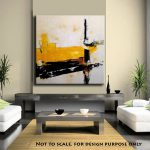 Handmade Large Abstract Art Painting Canvas