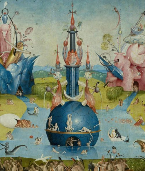 Hieronymus Bosch Afternoon Delight Art