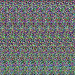 Hilly Terrain Autostereogram Aka Magic Eye Nobodyofdistinction