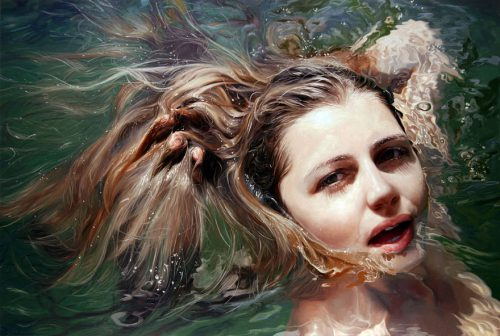 Hyper Realistic Paintings Alyssa Monks Design