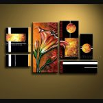 Ideas Abstract Oversized Canvas Wall