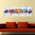 Ideas Modern Abstract Oil Painting Wall