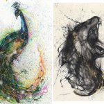 Ink Animal Paintings Hua Tunan