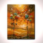 Items Similar Happy Tree Party Best Selling Item Wall Art Flower Painting
