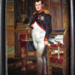 Jacques Louis David Napoleon Bonaparte Painting Repro