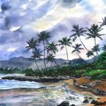 Jenny Floravita Tropical Oil Watercolor