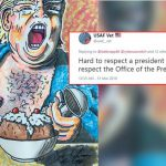 Jim Carrey Rolls Out Donald Trump Controversial Portrait Netizens Give Thumbs