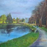 Johnstown Castle County Wexford Irish Landscape Painting