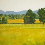 Landscape Art Print Oil Painting Sale Fields Diane