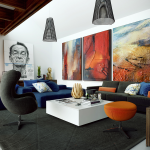 Large Wall Art Living Rooms Ideas