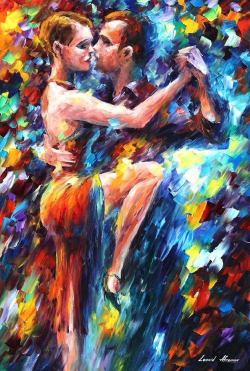 Leonid Afremov Oil Canvas Palette Knife Buy Original Paintings Art Famous