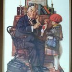 Like Know Painting Doctor Doll Norman Rockwell Worth