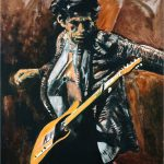 Like Rainbow Ronnie Wood Rolling Stones Have Art Show Ohio New York