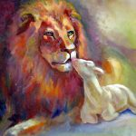 Lion Judah Lamb God Painting Judy
