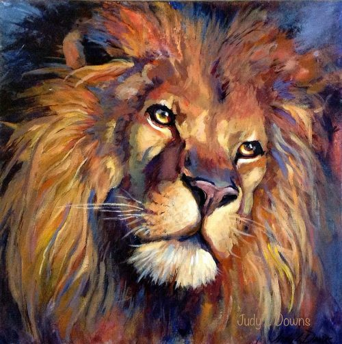 Lion Judah Painting Judy