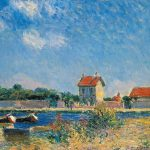 Loing Canal Saint Mammes Painting Alfred