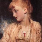 Lord Frederick Leighton Gulnihal Painting Framed Paintings