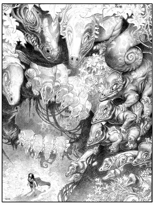 Lord Green Dragons Clark Ashton Smith Part Art Cover Inspired His