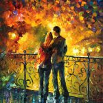 Love Through Leonid Afremov Strokes Ever