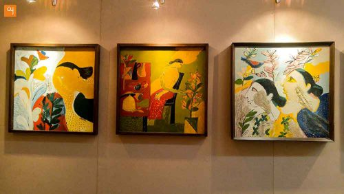 Many Moods Vinod Shah Gets Deserving Display Catharsis Exhibition Creative