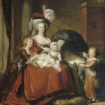 Marie Antoinette Her Children Icon French Painting National