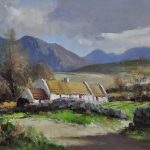 Maurice Canning Wilks Mournes Annalong County Down Painting
