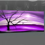 Modern Abstract Painting Lone Tree
