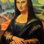 Mona Lisa Copy Painting Gayle