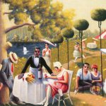 Motley Archibald Lawn Party Canvas Painting