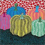 Mrs Knight Smartest Artists Pumpkin Paintings Inspired Yayoi