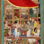 Mughal Painting Evolution History Features Prominent