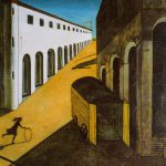 Mystery Melancholy Giorgio Chirico Giclee Canvas Print Repro