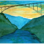 New River Gorge Bridge Painting David