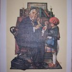 Norman Rockwell Canvas Print Doctor