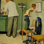 Norman Rockwell Doctor Office Cover Art
