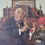Norman Rockwell Doll Print