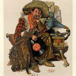 Norman Rockwell Vinyl Record Illustrations Pinterest