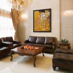 Oil Paintings Living Rooms Traditional Room Wichita