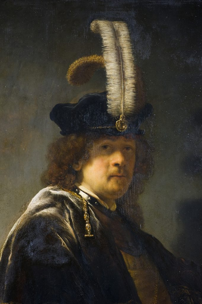 Old Masters Techniques Rembrandt Oil Painting Web Art
