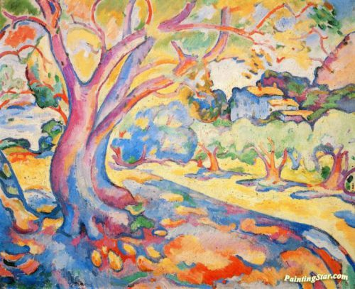 Olive Tree Artwork Georges Braque Oil Painting Art Prints Canvas
