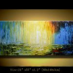 Original Abstract Painting Modern Landscape