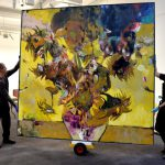 Painting Romanian Adrian Ghenie Sells Usd Mln Sotheby Auction Romania