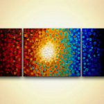 Painting Sale Modern Colorful Textured